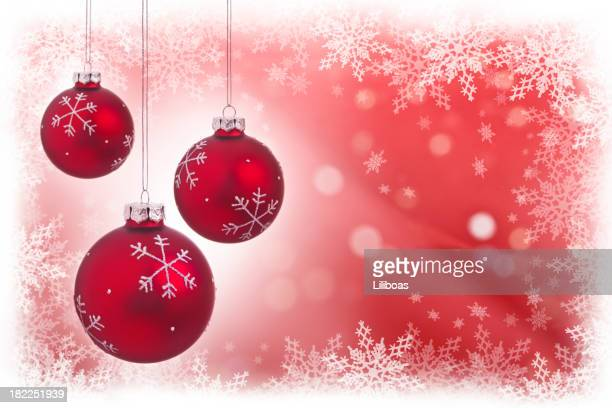 Snowflake Christmas Balls