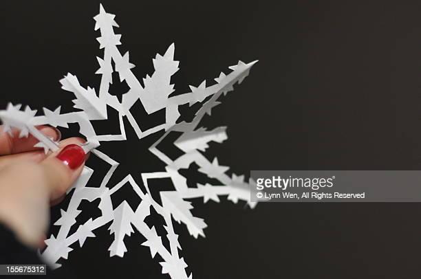 snowflake(paper-cut)