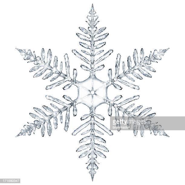 Schneeflocke-Schneekristall