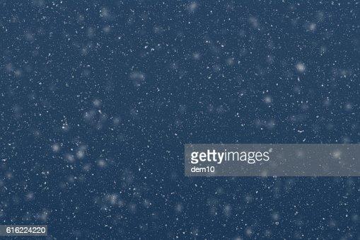 snowflakes falling background : Stock-Foto