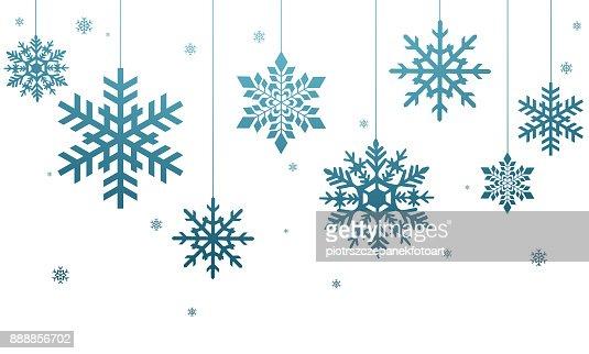 Schneeflocken : Stock-Foto