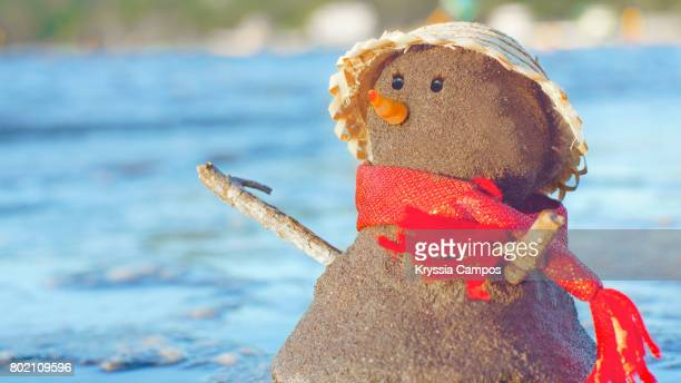 Snowman at Beach Vacations
