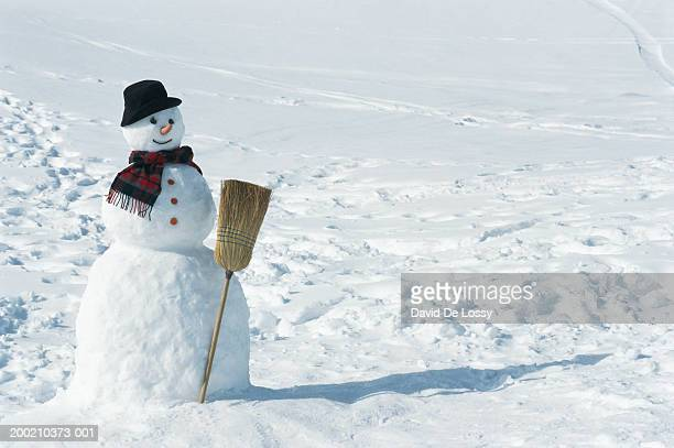 Snowman, close up
