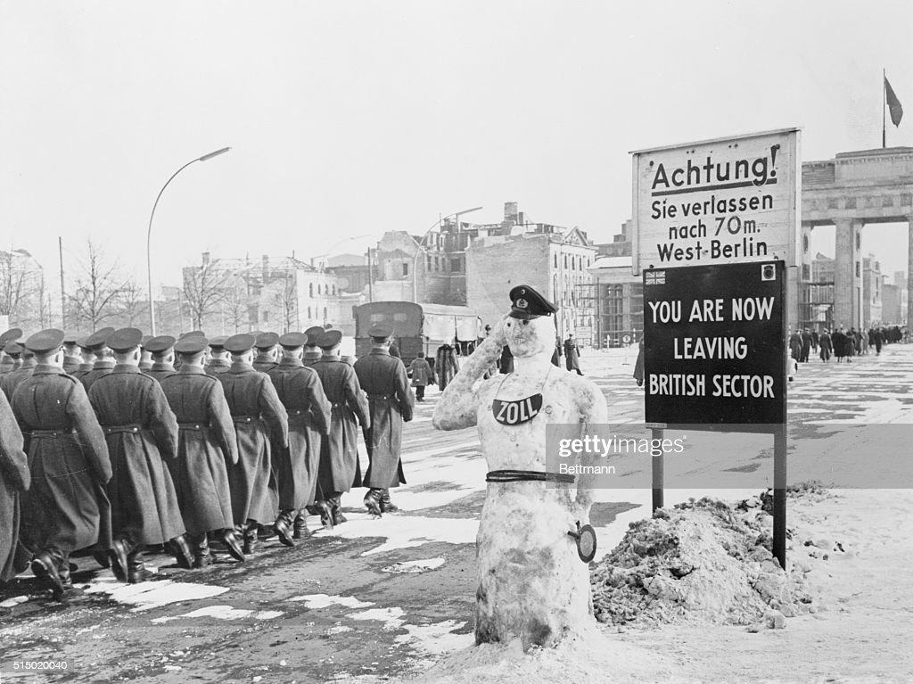 Image result for british zone berlin 1950