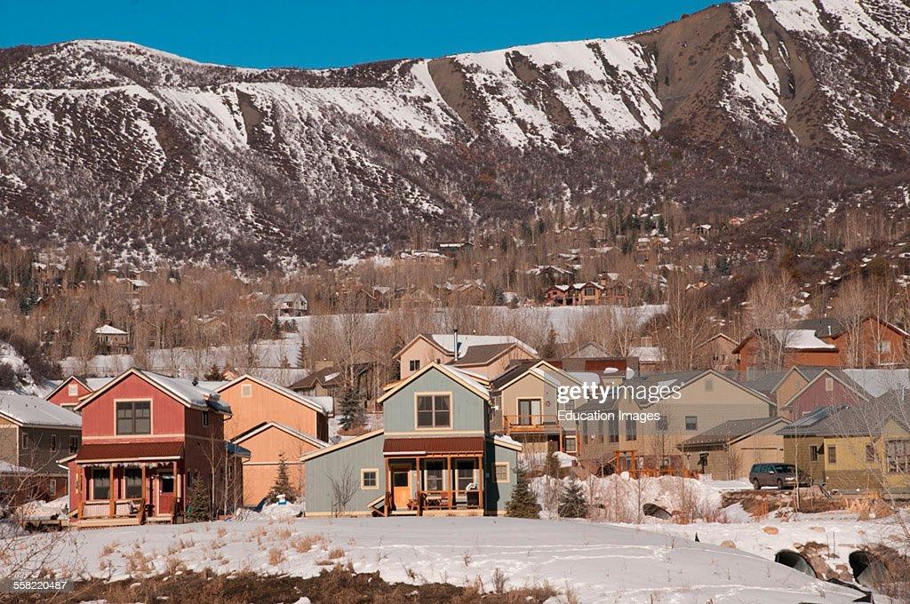 Snowmass Colorado vacation homes in ski resort