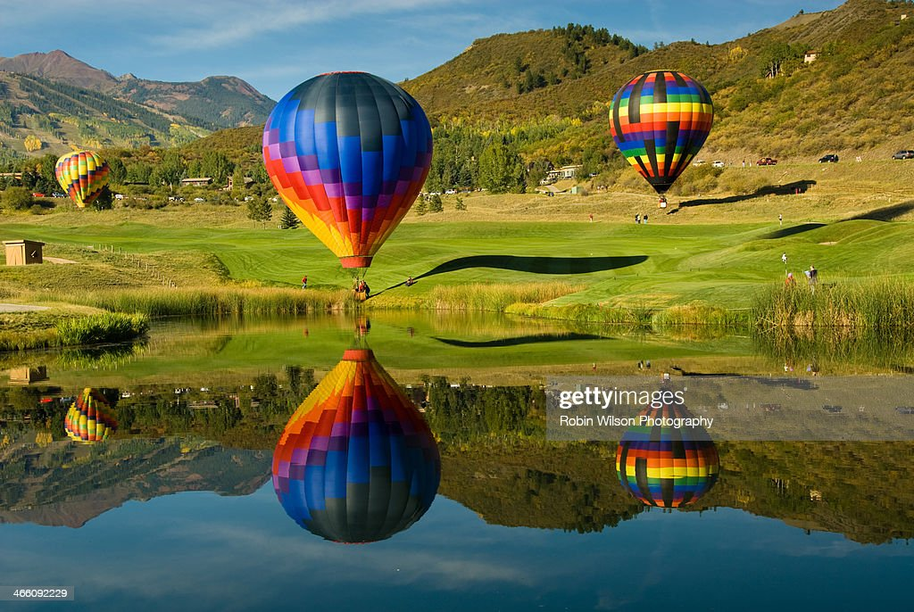 Snowmass Reflections : Stock Photo
