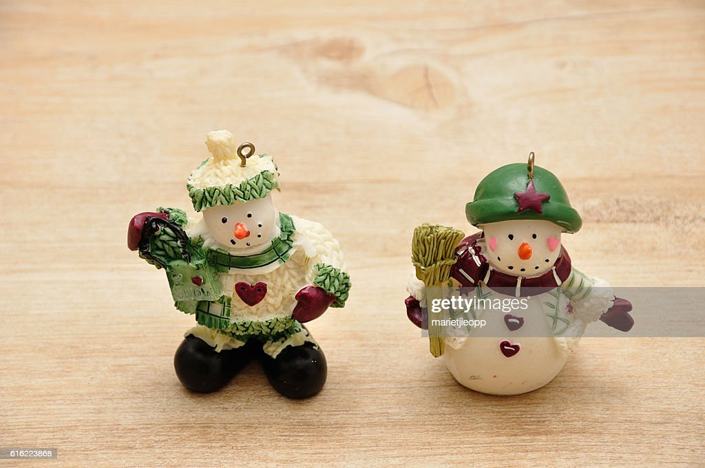 Snowmen : Stock Photo