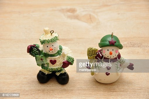 Snowmen : Stock Photo