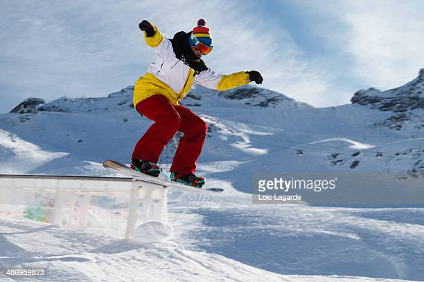 Snowpark freestyle