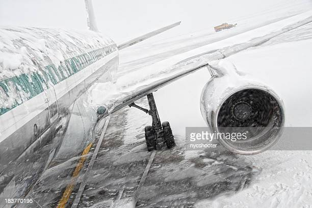 Snowstorm and air travel