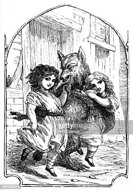 SnowWhite and RoseRed 1901 From Grimms Household Stories collected by the Brothers Grimm [George Routledge Sons Limited London 1901] Artist Edward...
