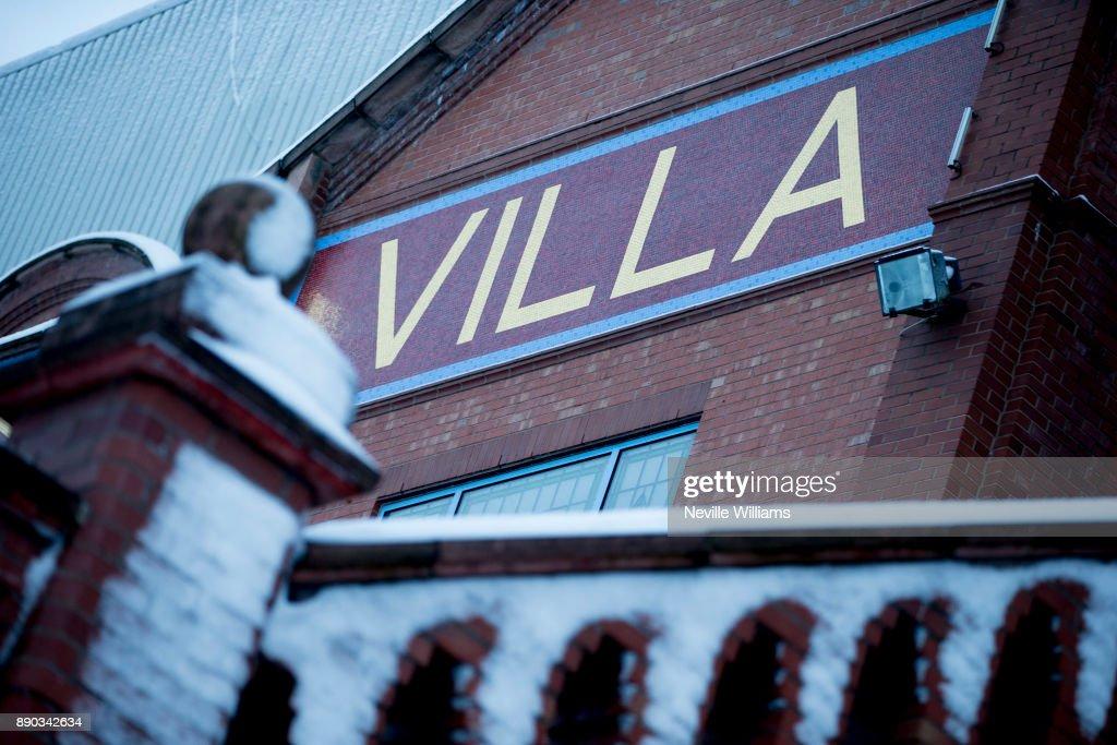 Villa Park In The Snow