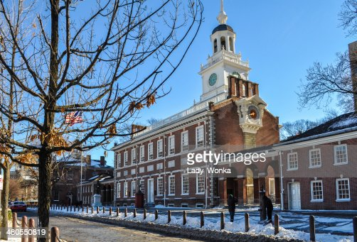 Nívea Independence Hall : Foto de stock
