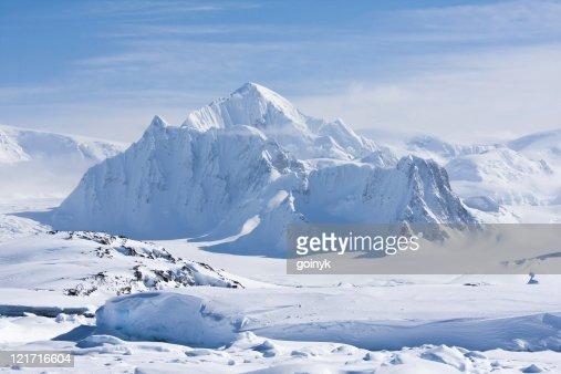 snowy peaks : Stock Photo