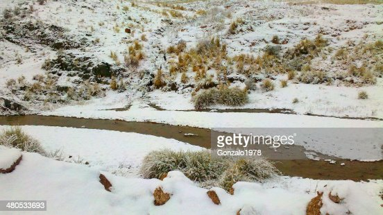 rio nevado : Stock Photo