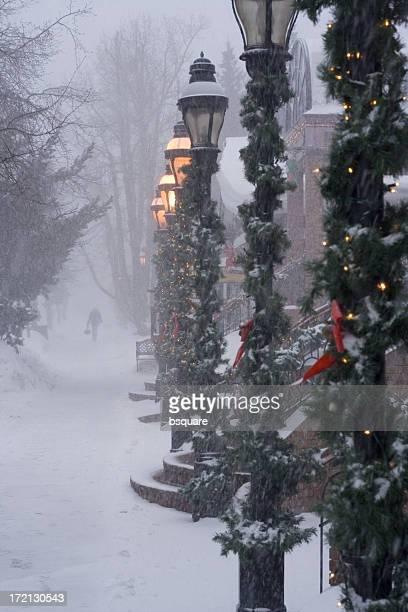 snowy zu Fuß