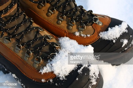 Snowy Winter Boots