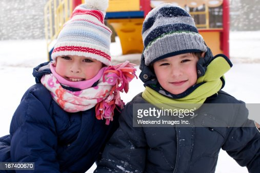 Snowy winter : Stock Photo
