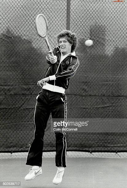 So close Toronto's Rick Pinto had topseeded Laird Dunlop at double match point at Ontario Under21 tennis championships but let the match slip away 26...