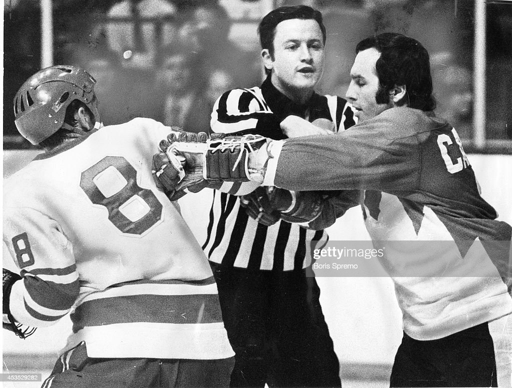 So far in Soviet-Canada hockey series, Russians have not resorted to stand NHL procedure of fighting to relieve frustrations, reader observes , but he goes on to wonder if, as 'young men with manly passions,' they wouldn't get the better of any fracas that might occur.