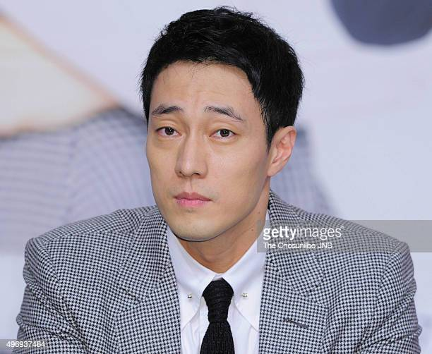 So Jisub attends the KBS drama 'Oh My Venus' press conference at Amoris on November 11 2015 in Seoul South Korea