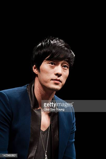 So JiSub attends the movie 'Only You' Press Conference at Apgujeong CGV on September 20 2011 in Seoul South Korea
