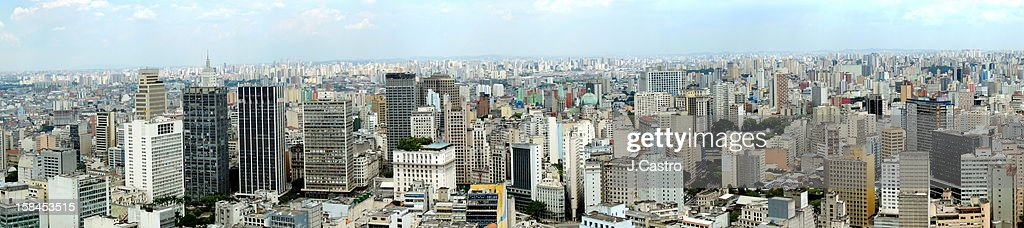 São Paulo City Center : Stock Photo