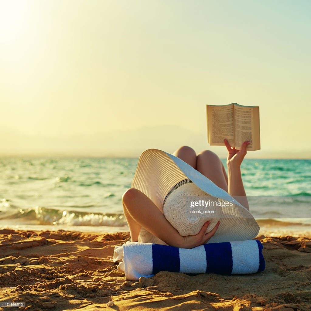 so relax when reading : Stock Photo