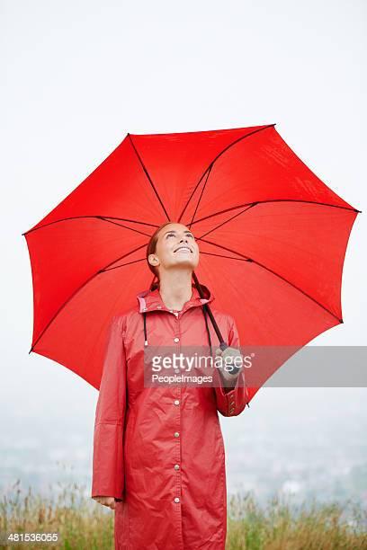 Was, wenn es regnet? Ich bin für alles bereit!