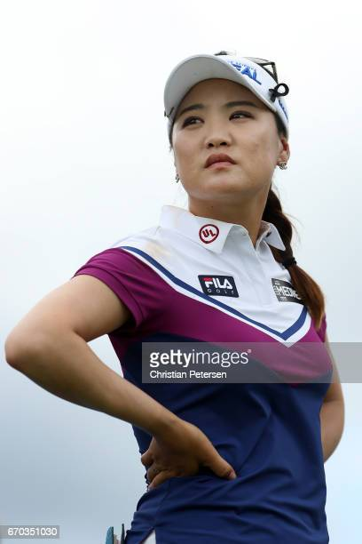 So Yeon Ryu of Republic of Korea during the final round of the LPGA LOTTE Championship Presented By Hershey at Ko Olina Golf Club on April 15 2017 in...