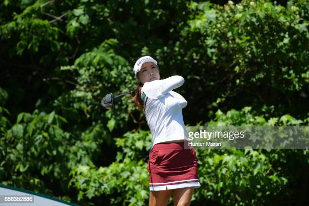 So Yeon Ryu of South Korea during the second round of the Kingsmill Championship presented by JTBC on the River Course at Kingsmill Resort on May 19...