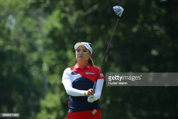 So Yeon Ryu of South Korea during the third round of the Kingsmill Championship presented by JTBC on the River Course at Kingsmill Resort on May 20...