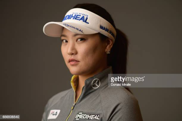 So Yeon Ryu of South Korea poses for a portrait during the KIA Classic at the Park Hyatt Aviara Resort on March 21 2017 in Carlsbad California