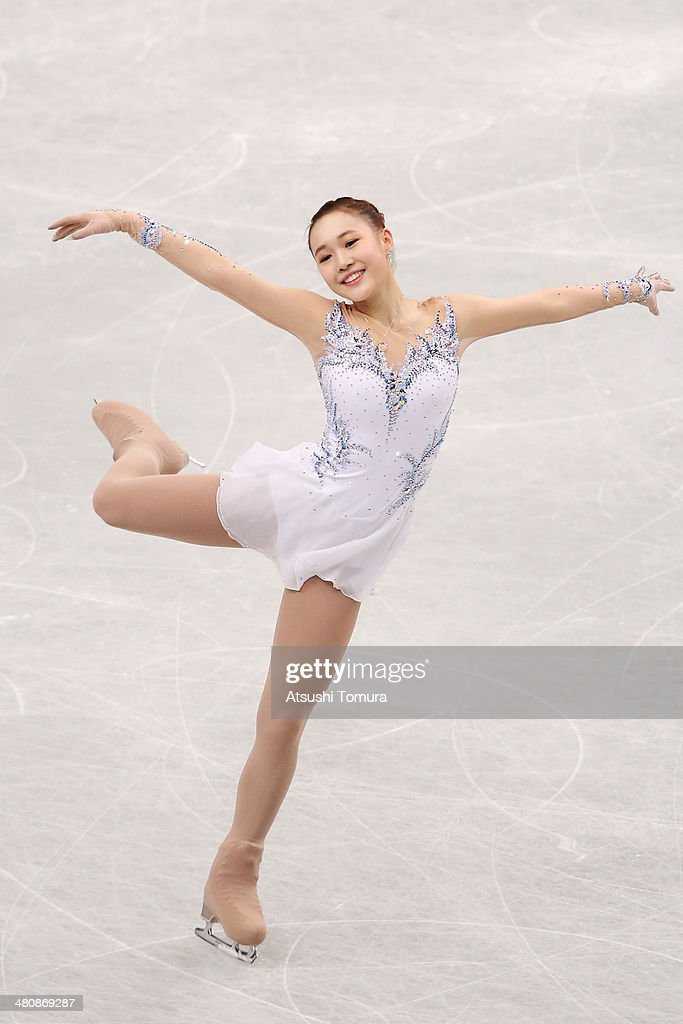 So Youn Park of Korea competes in the Ladies Short Program during ISU World Figure Skating Championships at Saitama Super Arena on March 27, 2014 in Saitama, Japan.