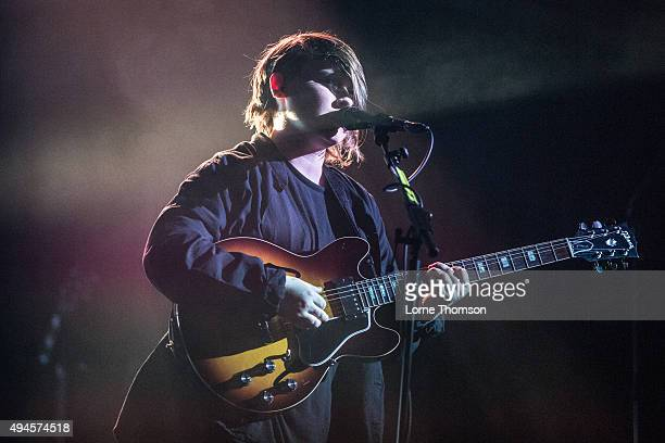 Soak performs at the Union Chapel on October 27 2015 in London England