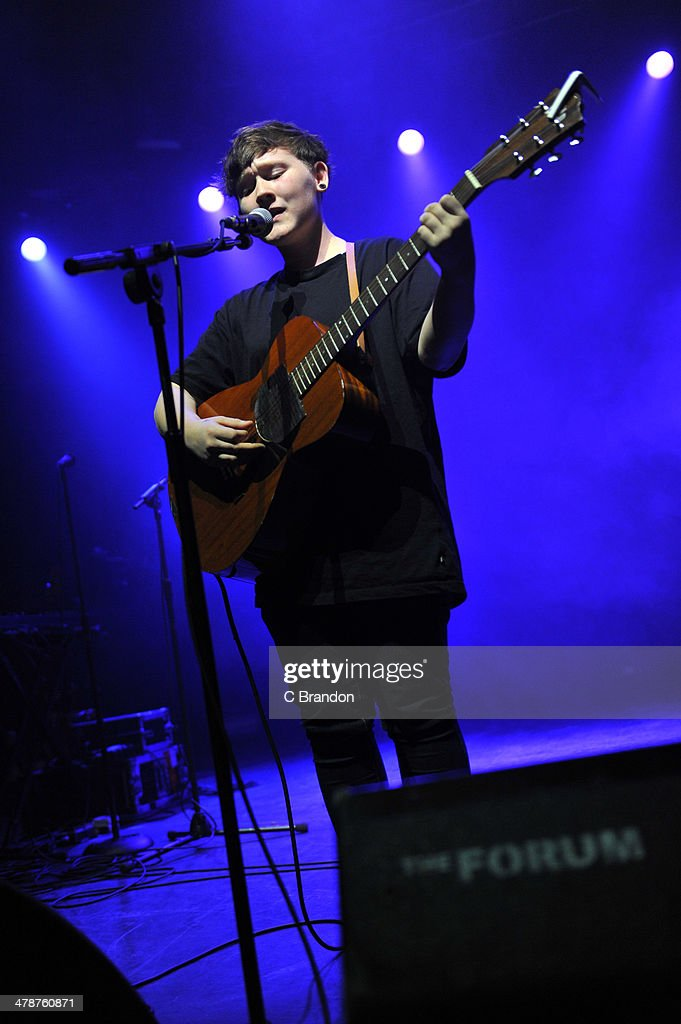 Soak performs on stage at The Forum on March 14, 2014 in London, United Kingdom.
