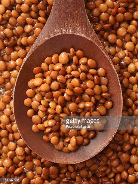 Soaked lentils
