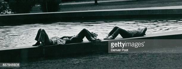 Soaking Up The Sun Poolside outside Museum of Natural History at Denver's City Park was a fine place to relax and soak up the sun Monday Monday's...