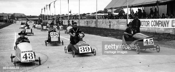 Soap Box Derby Crystal Palace London 1939 The Soap Box Derby pedal race is a very popular amateur racing event