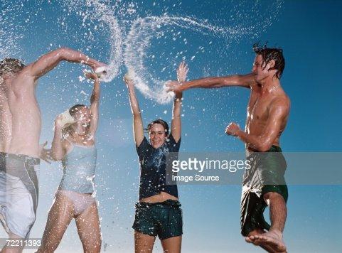 Soap fight