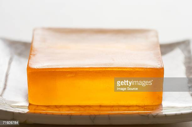 Soap in a dish
