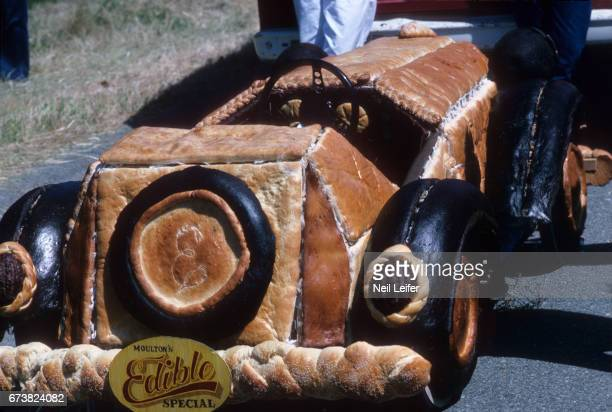 1st SFMMA Artists' Soap Box Derby View of edible bread car during event at McLaren Park The event was organized by the San Francisco Museum of Modern...