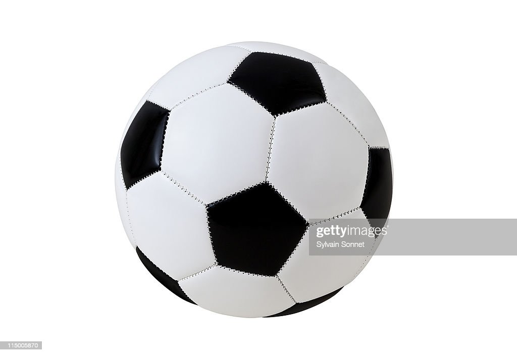 Soccer Ball with Clipping Path : Stock Photo