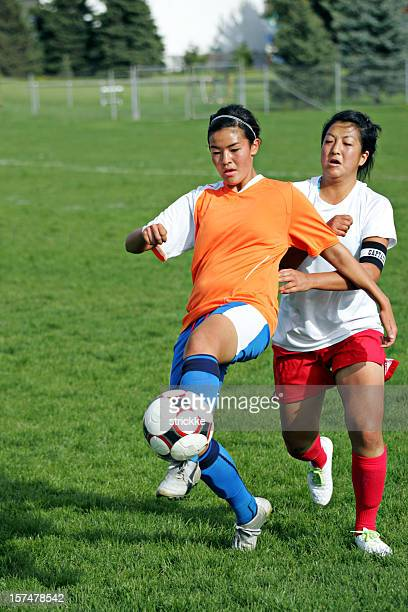 Soccer Battle Grimace with copyspace