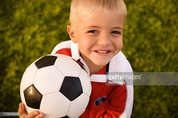 Garçon de football