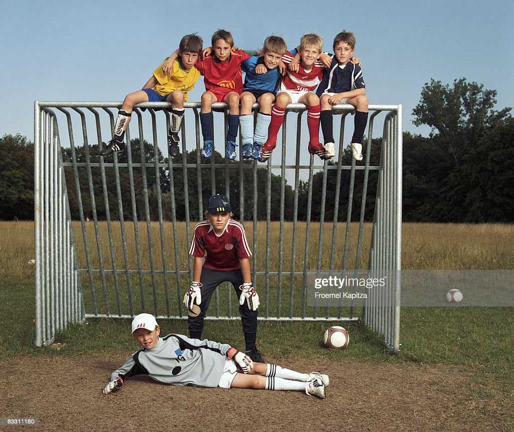 Soccer Boys : Stock Photo