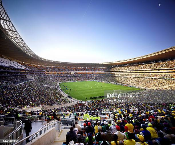 Soccer City JohannesburgJohannesburg Gauteng South Africa Architect Populous Soccer City Stadium Populous Architects Johannesburg South Africa 2010...