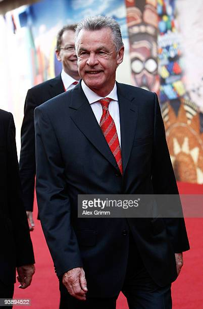 Soccer coach Ottmar Hitzfeld arrives before the Final Draw for the FIFA World Cup 2010 December 4 2009 at the International Convention Centre in Cape...