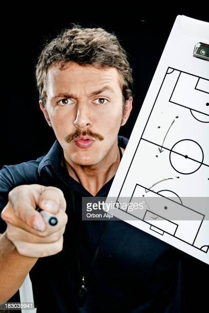 サッカーコーチ