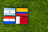 Soccer Cup of South America - Group B.